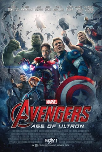 Avengers: Age of Ultron - Theatrical release poster