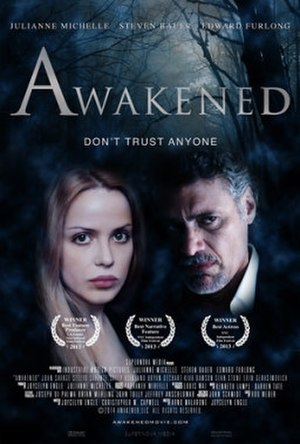 Awakened (2013 film) - theatrical release poster
