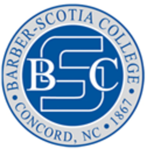 Barber–Scotia College - Image: BARBER SCOTIA COLLEGE logo
