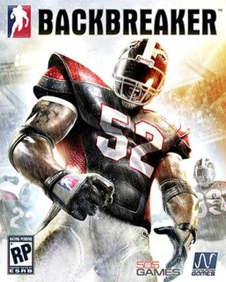 Backbreaker (video game) - Image: Backbreaker boxart