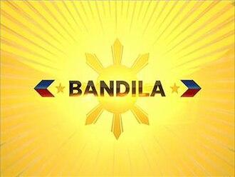 Bandila (TV program) - Logo used since July 4, 2016.
