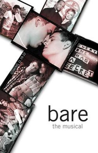 Bare: A Pop Opera - Off-Broadway promotional poster