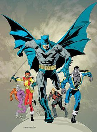 Outsiders (comics) - Art by Kevin Nowlan