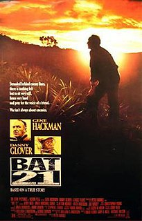 <i>Bat*21</i> 1988 film directed by Peter Markle