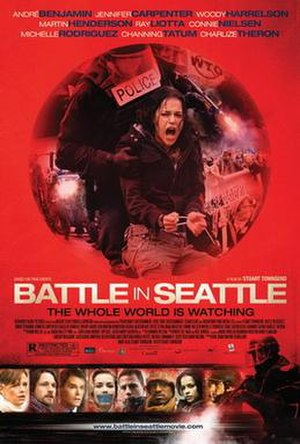 Battle in Seattle - Theatrical poster