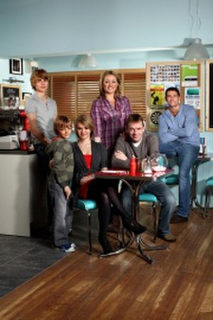 Beale family - Beale family in 2010 from left to right: Peter, Bobby, Lucy, Jane, Ian, and Christian