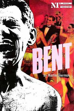 Bent (play) - Poster for the Royal National Theatre's 1990 revival of Bent, starring Sir Ian McKellen