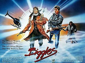 Biggles (film) - Original British 1986 quad film poster