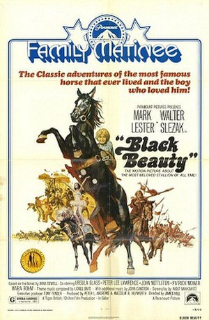 Black Beauty (1971 film) - Theatrical release poster