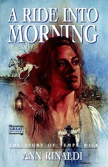 Book Cover of A Ride into the Morning by Ann Rinaldi.jpg