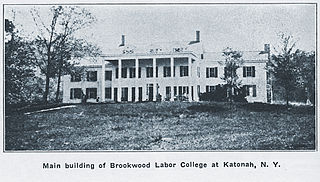 Brookwood Labor College First residential labor college in United States