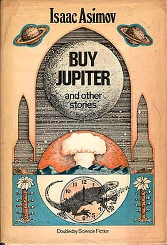 Buy Jupiter and Other Stories - Cover of the first edition, published by Doubleday.