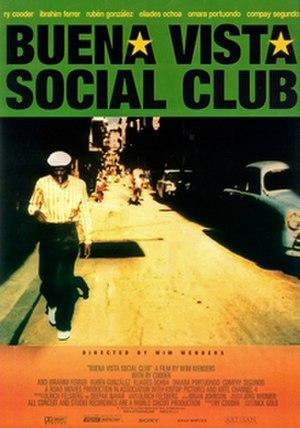 Buena Vista Social Club (film) - Theatrical release poster