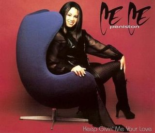 Keep Givin Me Your Love 1995 single by CeCe Peniston