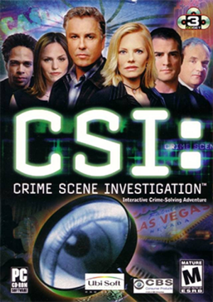 CSI: Crime Scene Investigation (video game) - PC Cover art