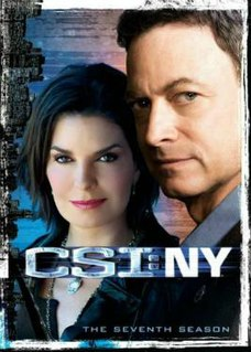 <i>CSI: NY</i> (season 7) season of television series