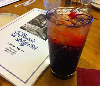 Ironport (beverage) - Cherry Ironport as served at the Bluebird in Logan, UT