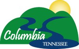 Columbia, Tennessee - Image: City of Columbia Logo