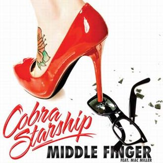 Middle Finger (song) - Image: Cobra starship middle finger