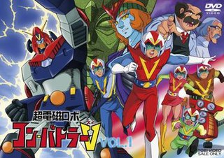 <i>Chōdenji Robo Combattler V</i> Japanese anime television series