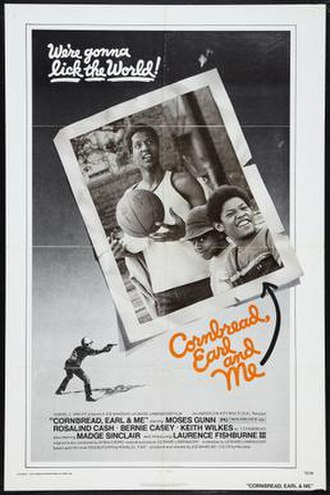 Cornbread, Earl and Me - Theatrical release poster