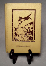 Front cover (dust jacket) of the Caxton Printers 1933 first edition of the book Coyote Stories by Mourning Dove.