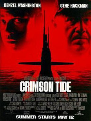 Crimson Tide (film) - Theatrical release poster