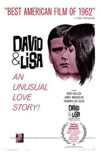 David and Lisa - Theatrical release poster