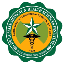 De La Salle Medical and Health Sciences Institute Seal.png