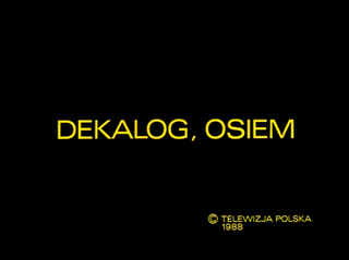 1988 Film directed by Krzysztof Kieślowski