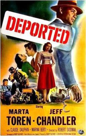 Deported (film) - Theatrical release postzer