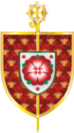 Roman Catholic Diocese of Salford - The coat of arms of the Diocese of Salford