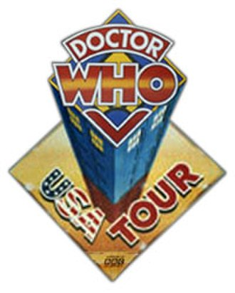 Doctor Who in Canada and the United States - 1986 Doctor Who USA Tour logo.