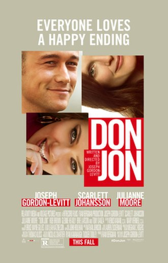 Don Jon - Theatrical release poster