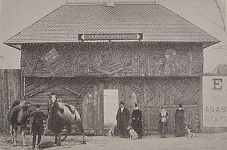 Elitch Gardens - Elitch Zoological Gardens Gate, 1890