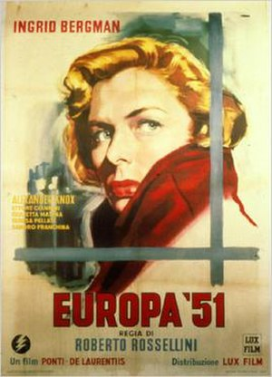 Europe '51 - Image: Europa '51 poster
