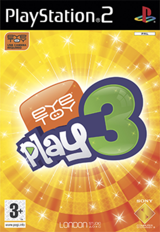 EyeToy: Play 3 - Image: Eye Toy Play 3 Coverart