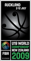 Official logo of the FIBA Under-19 World Championship 2009