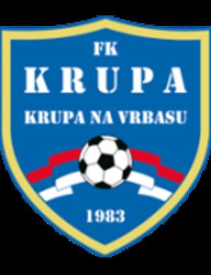 FK Krupa - Image: FK Krupa Logo