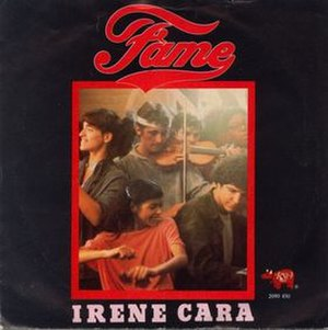 Fame (Irene Cara song) - Image: Fame Single Cover Art
