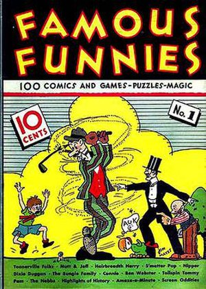 Famous Funnies - Image: Famous Funnies n 1(1934)