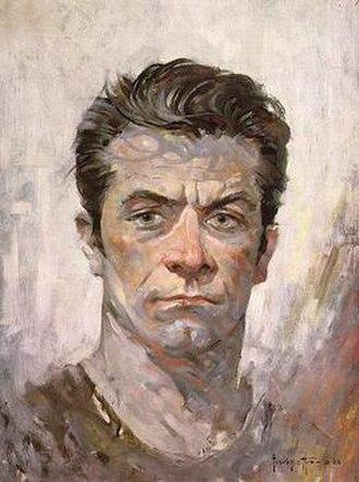 Frank Frazetta - Frank Frazetta self-portrait (1962)