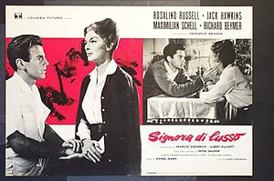 Five Finger Exercise - Italian film poster