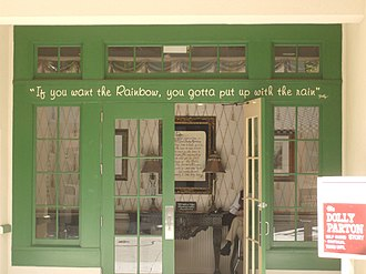 Chasing Rainbows Museum - Front door to Chasing Rainbows