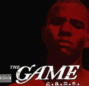 G.A.M.E. - Image: G.A.M.E. (Gettin' American Money Eazy) (The Game album cover art)