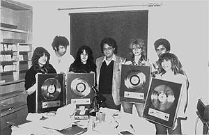 Girlschool discography - Girlschool received gold discs in Canada in 1982 for the sales of the album Hit and Run