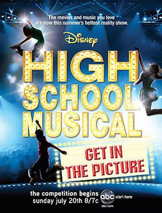High School Musical: Get in the Picture - Image: HSM tvposter