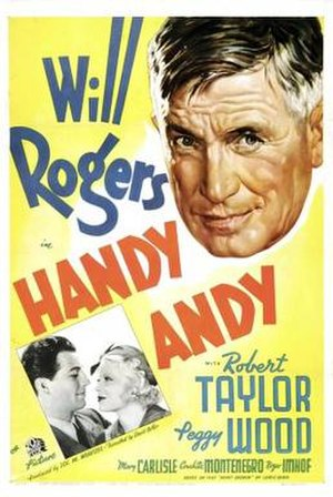Handy Andy (1934 film) - Theatrical release poster