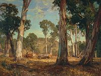 Hans Heysen Hauling Timber.jpg