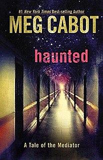 <i>Haunted</i> (Cabot novel) novel by Meg Cabot